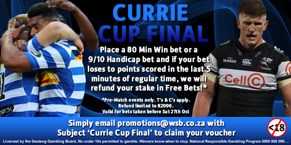 Currie Cup Final SM